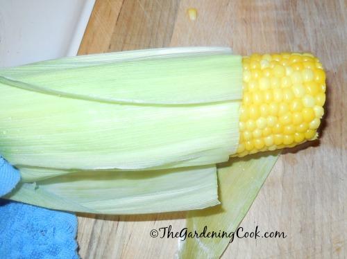 Silk free corn