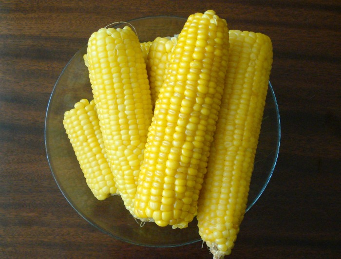 sweet corn with no silk