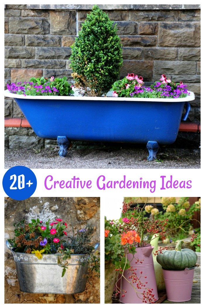 Over 20 creative gardening ideas for those on a budget