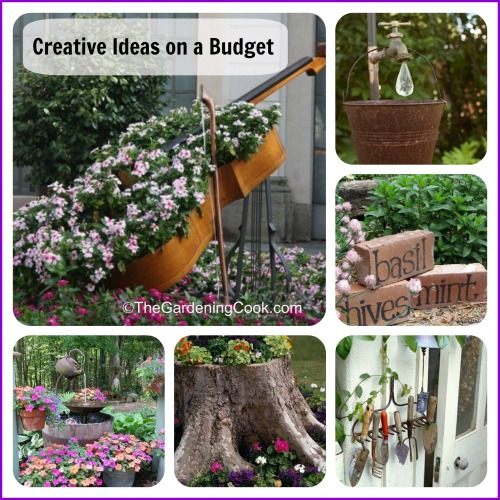 Creative Gardening DIY projects on a budget
