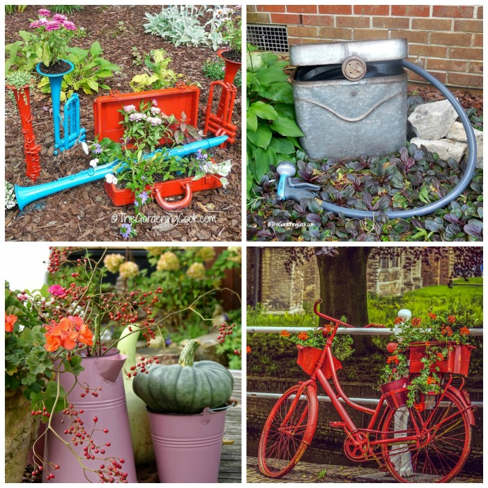 20+ Recycled Garden Decor Ideas