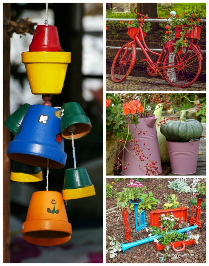 Whimsical garden decor ideas