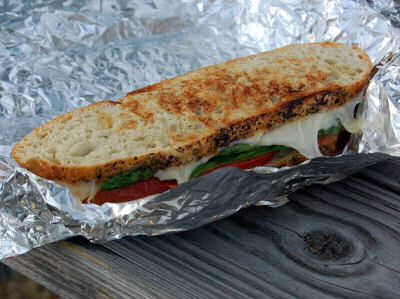 Fire Grilled Camp Sandwich