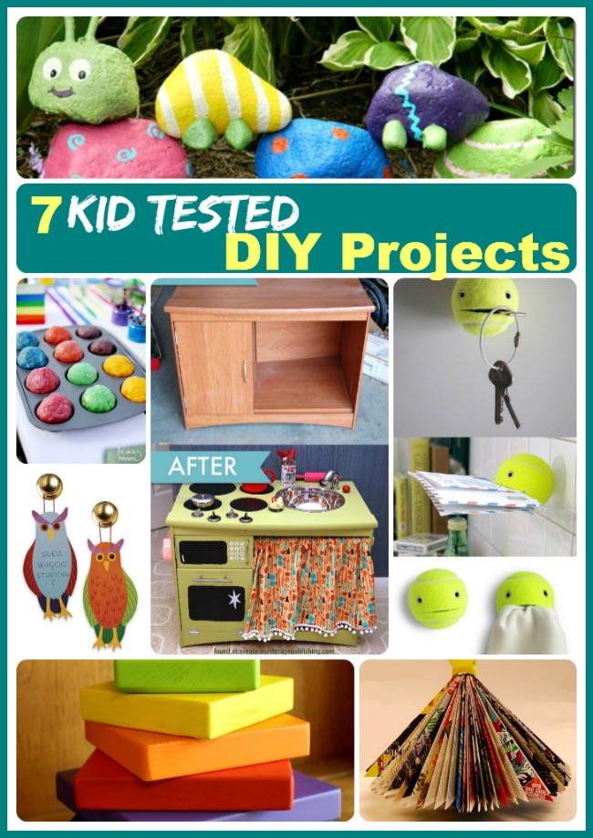 7 kid tested DIY projects