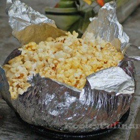 Camping Foods Easy Campfire Popcorn Uses The Old Style Jiffy Pop Containers Kids Will Love This One