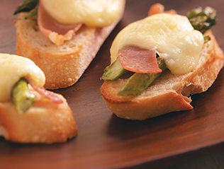 Asparagus Crostini Appetizers