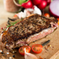 Cuban steaks with mojo marinade