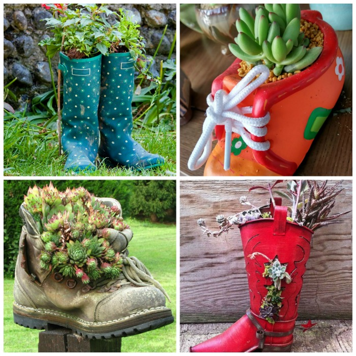 Tips for using Shoes ad Planters