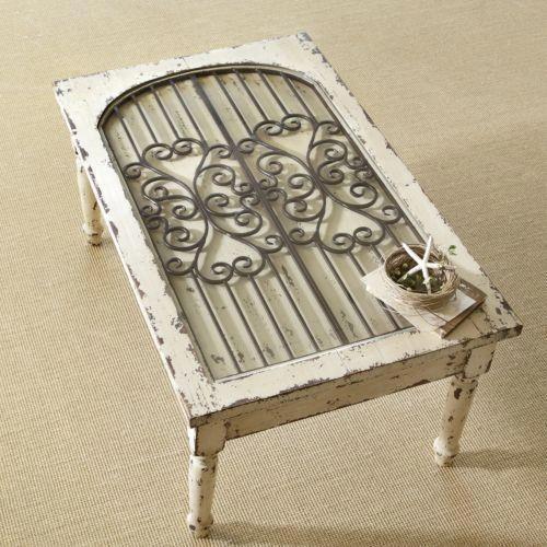 Iron Window Table
