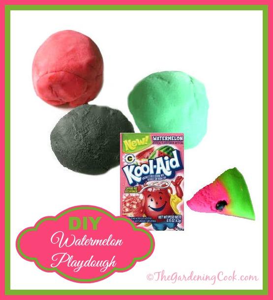 DIY watermelon Kool aid. Smells divine and the kids will love it!