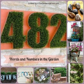 Words and Numbets used in Gardens