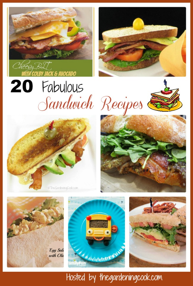 20 Fabulous Sandwich Recipes