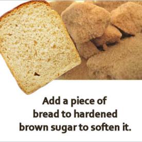 soften brown sugar