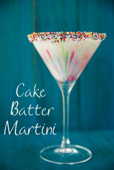 Cake Batter Marttini - Birthday in a glass