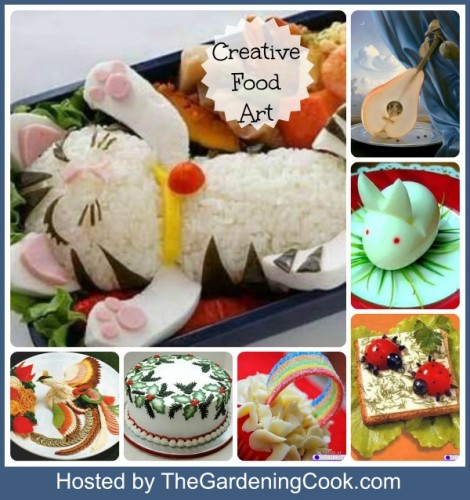 Round up of Creative Food Art Creations