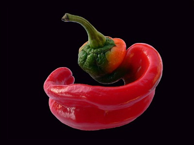be careful using hot peppers in a sandwich. It can overwhelm the flavors