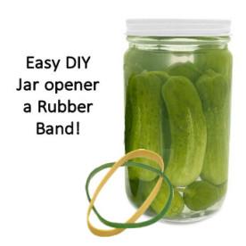 Easy DIY jar opener