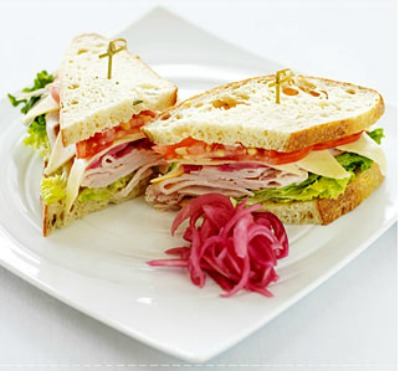 Make your sandwich appealing to the eyes.