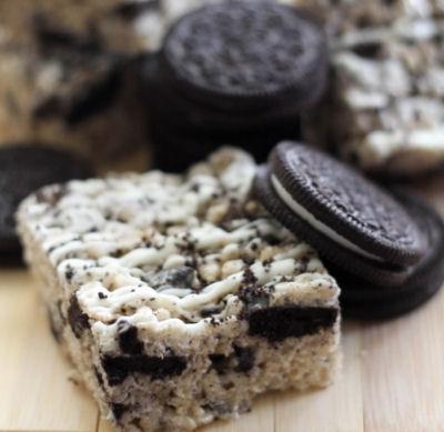 Oreo Rice Cookie Treats