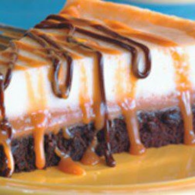 Brownie Caramel Pie