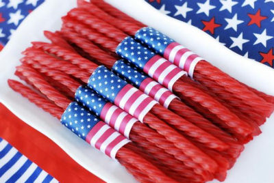 Fourth of July Twizzlers