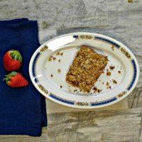 oatmeal strawberry bars