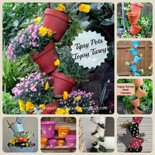 Tipsy pots and Topsy Turvy Planters