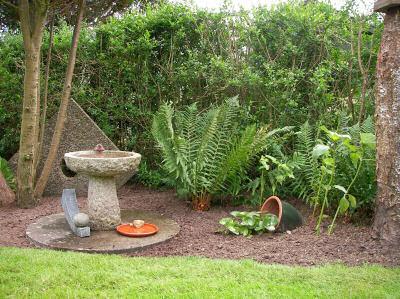 Animal friendly garden
