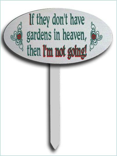 Cute Garden Sign