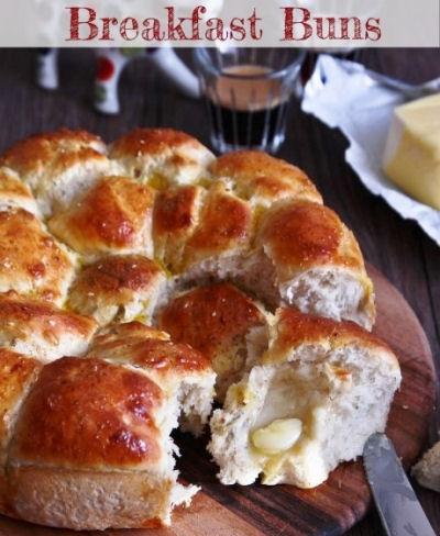 Savoury Or Sweet Breakfast Buns