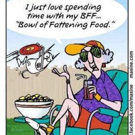 Maxine food joke