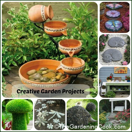 Gardening Ideas - Creative Projects and Decor - The Gardening Cook