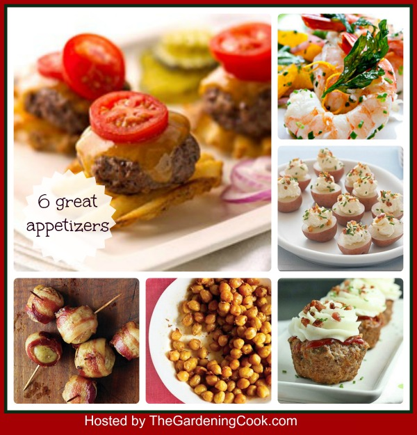 6 Great Appetizer Recipes