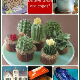 Round up of creative cakes - hard to believe these are all cakes!
