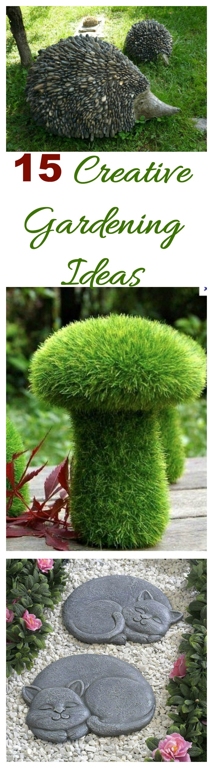 Gardening ideas creative projects and decor the for Creative garden design 805