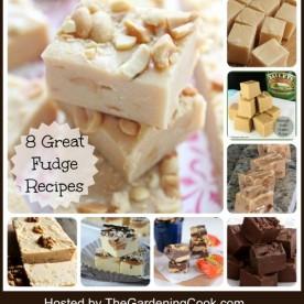 Round up of 8 Great Fudge Recipes