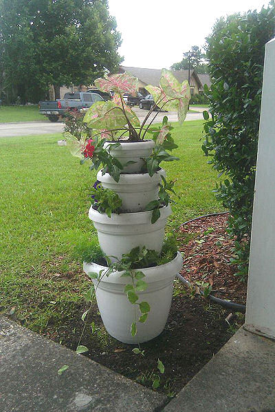 Layered planter