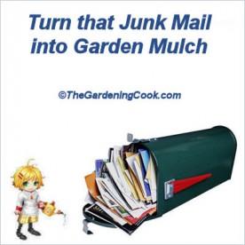 Junk Mail Mulch