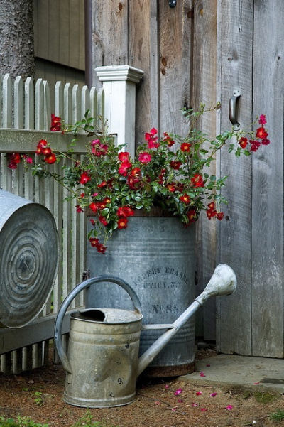 Galvanized Garden Decor So Popular