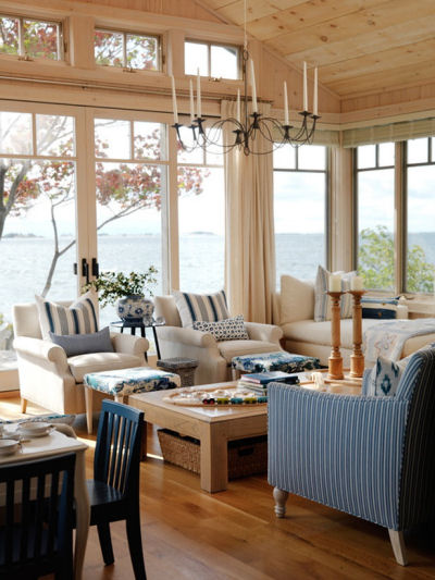 Wrap around porch Sunroom