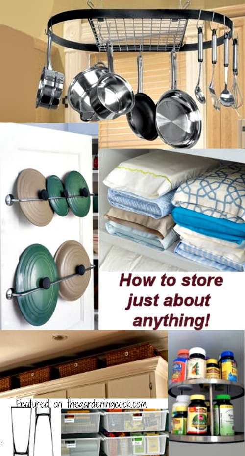 How to store just about anything