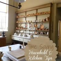 Time saving household and kitchen tips