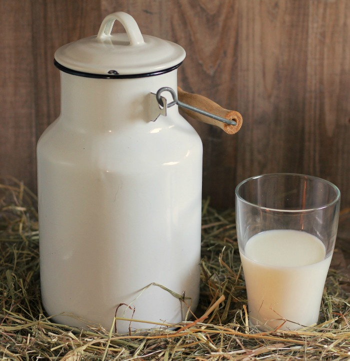 Milk products can attract vermin so they should not be composted