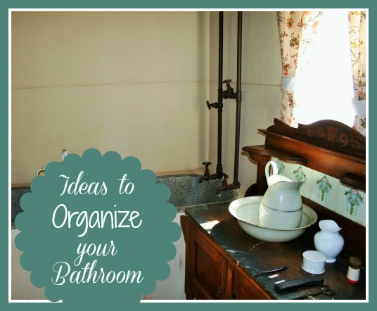 Is your bathroom a jumbled mess? Try one of these bathroom organization ideas!
