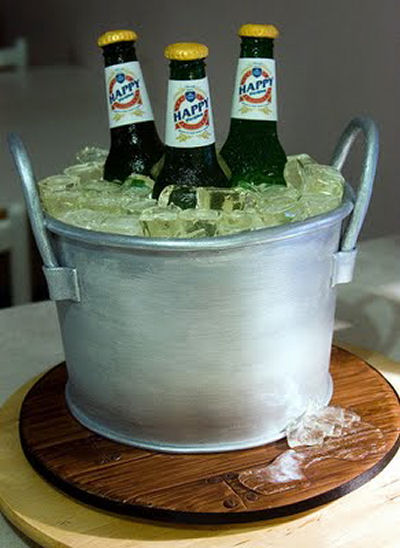 Bucket of Beer cake