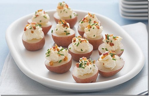 Mini Potato Bites appetizer