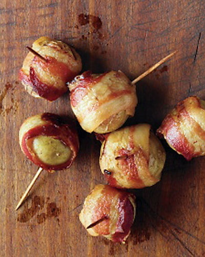 Bacon Wrapped Potato appetizer