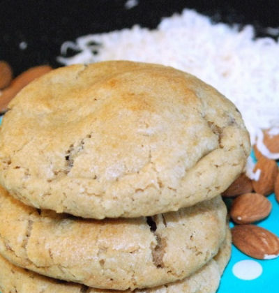 Fluffy Almond Joy Cookies