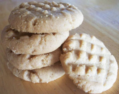 Impossible peanut butter cookie