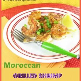 Moroccan grilled shrimp